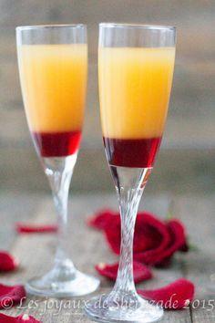 Cocktail pour Saint-Valentin sans alcool