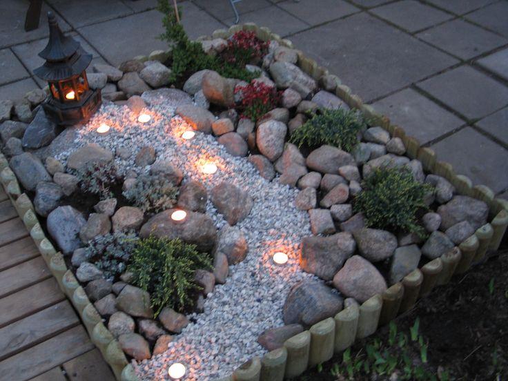 Mini Japanese garden.