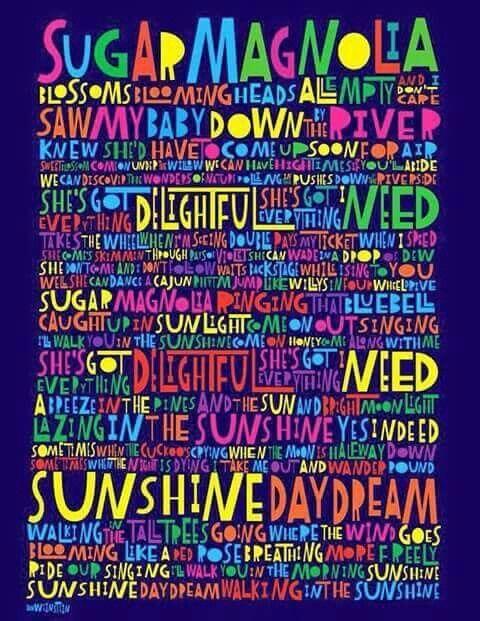 "Grateful Dead - ""Sugar Magnolia"""