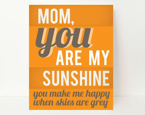 Mother's Day Art Print in beautiful colors..!
