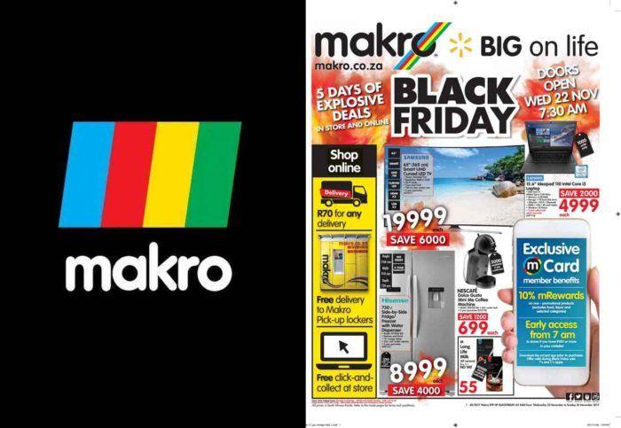 Makro Black Friday Deals Christmas Shopping Trendebook Christmas Shopping Black Friday Deals Good Morning Inspiration
