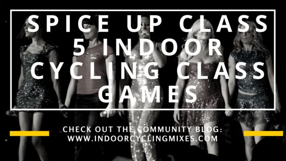 5 Indoor Cycling Class Games