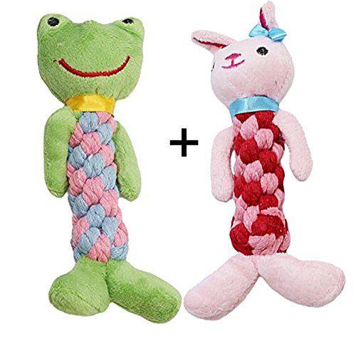 Durable Squeaky Dog Toy Tough Dog Plush Toys Interactive Plush Toy