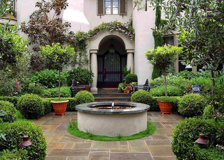 Superb Luxury Garden Decorating For Small Gardens