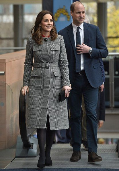 Prince William and Catherine, Duchess of Cambridge visited Manchester in order to attend the Children's Global Media Summit held at the Manchester Central Convention Complex. The session is a focus group where young people are able to give children's television editorial staff and content producers their view of how they respond to new programmes under production. 6 Dec 2017