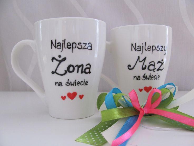 #Kubki na #ślub #prezent #gift #mugs #mug #komodapomyslow