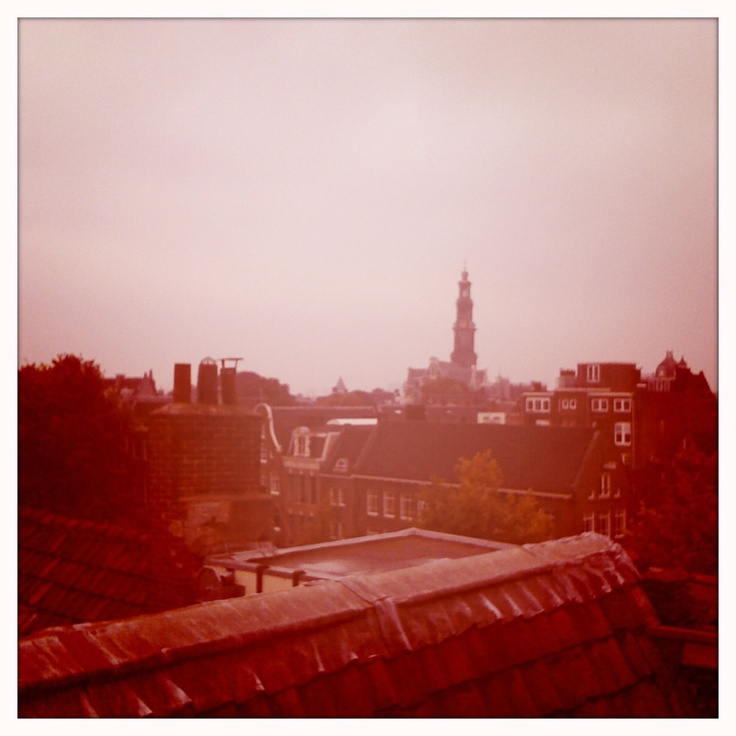 Roof tops Amsterdam