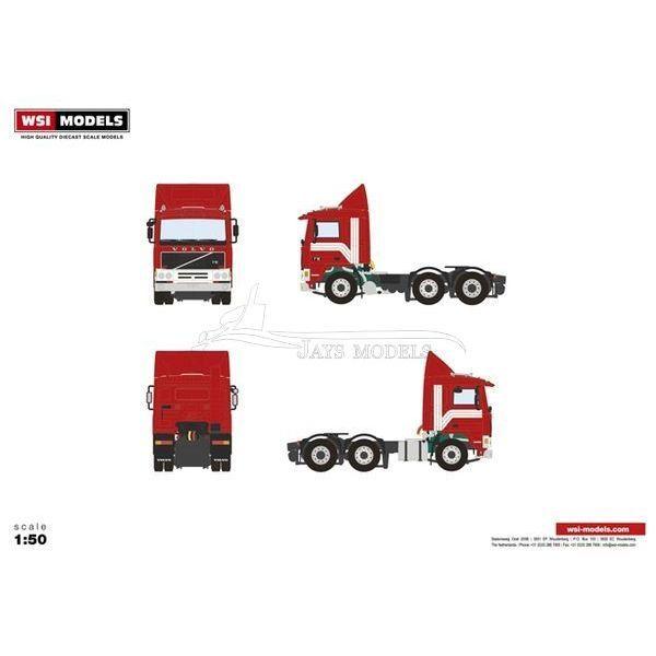 Volvo 6x2 Prime Mover - 04-2013