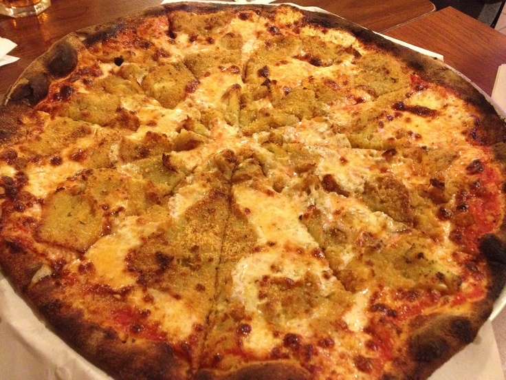 Eggplant Pizza Modern Apizza New Haven Ct With Images Eggplant Pizzas Food Foodie