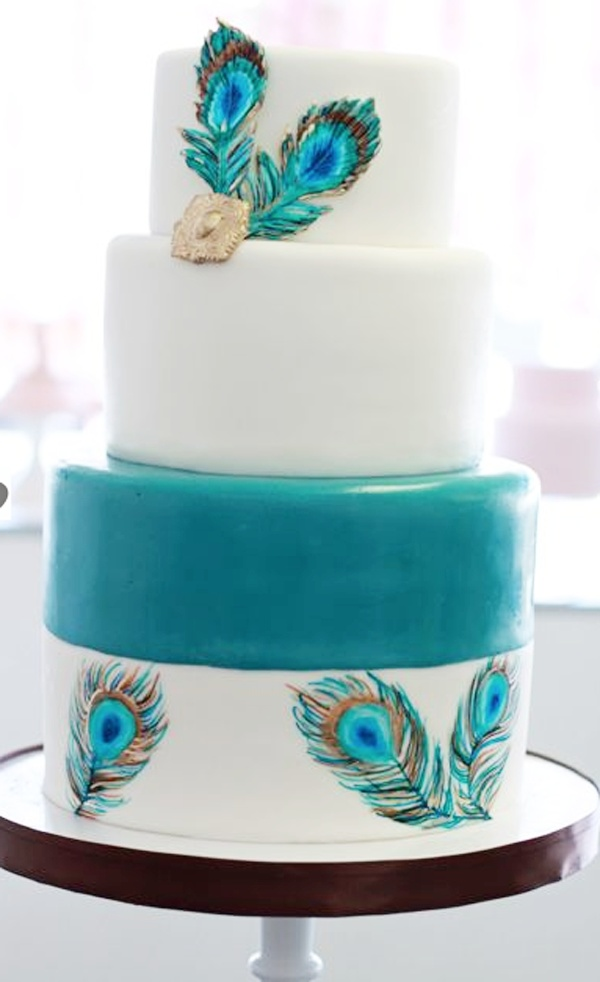 78 Images About Peacock Colors Wedding On Pinterest
