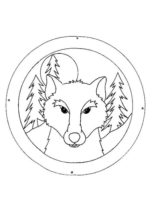 82 best Dessins de Loups à colorier images on Pinterest