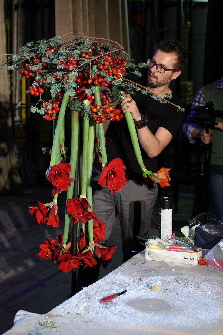 724 Besten Florale Kerst Bilder Auf Pinterest