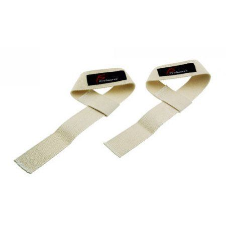 Weight Lifting Straps, Beige