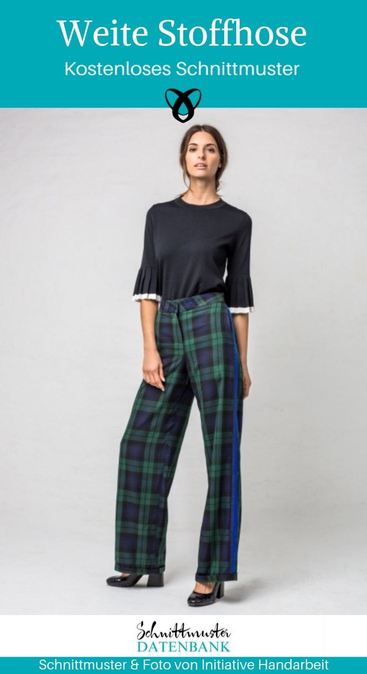 Wide trousers for women