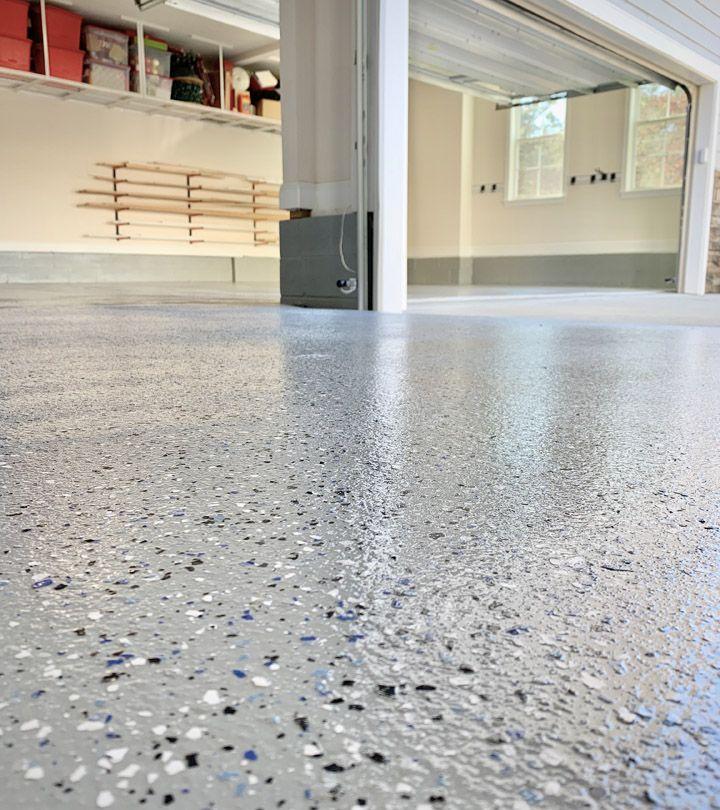 DIY Epoxy Garage Floors in 2020 Garage floor epoxy