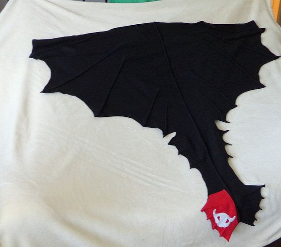 Toothless Dragon Cape Costume cosplay Halloween by EpicInspiration, $35.00