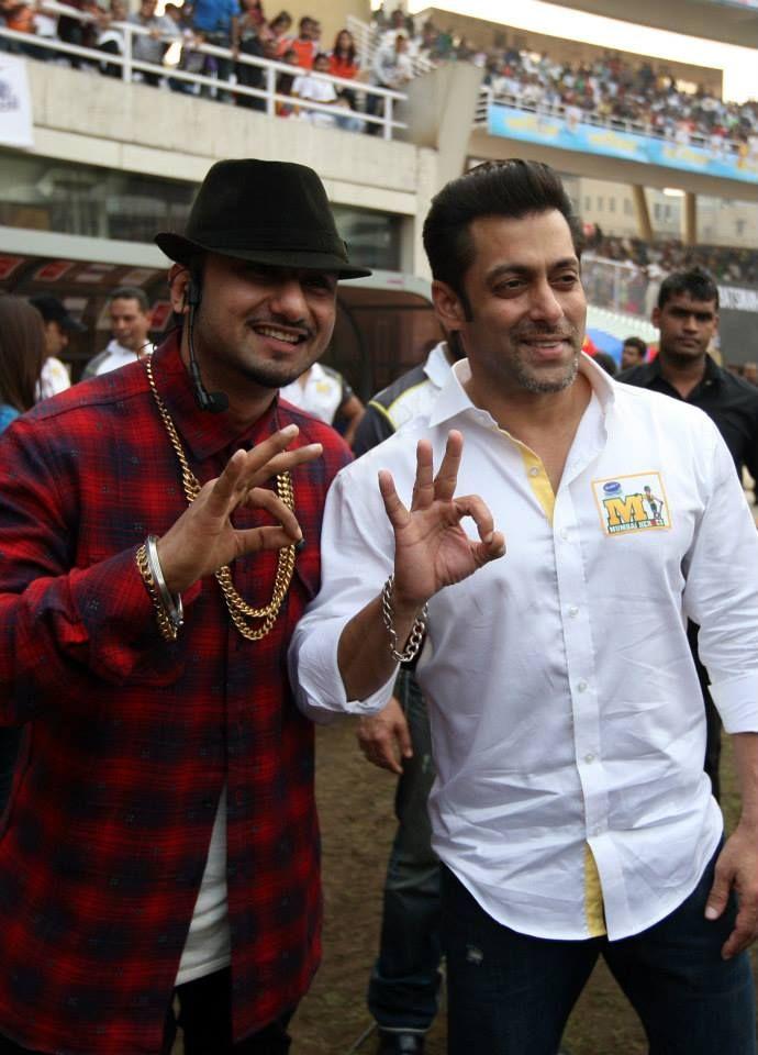 Salman Khan at CCL 4