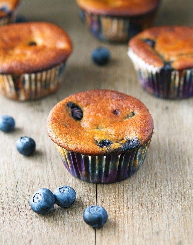 Blueberry Muffins (Vegan and Paleo)