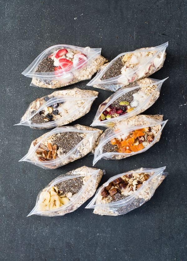 DIY Instant Oatmeal Packets + 8 Flavor Combinations TRY THIS!!!!