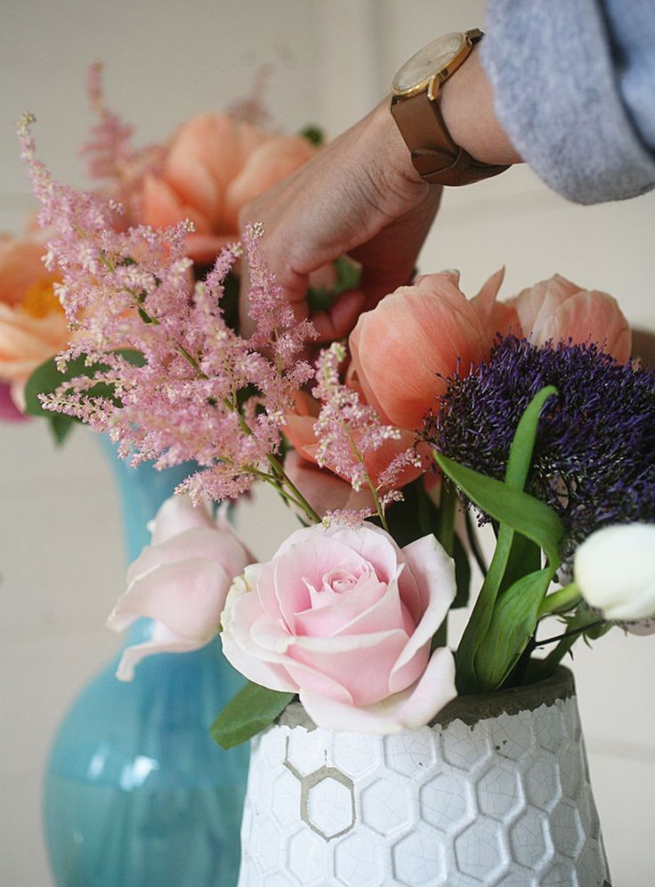 Create your own bouquets for any event w these tips for Create your own flower arrangement