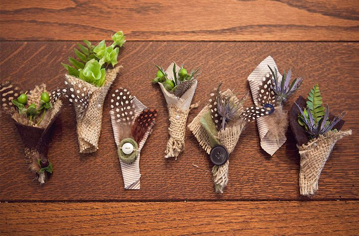 Fun Boutonnieres | Every Last Detail
