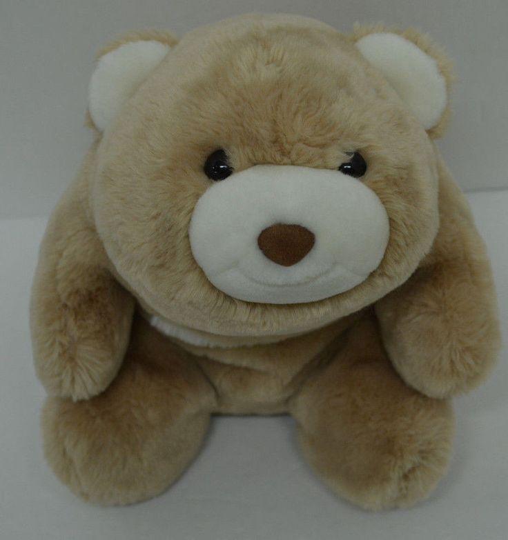 "Gund Snuffles Bear Plush Butterscotch Cream Bean Bag #15169 14"" #GUND http://stores.ebay.com/Lost-Loves-Toy-Chest/_i.html?image2.x=0&image2.y=0&_nkw=gund"