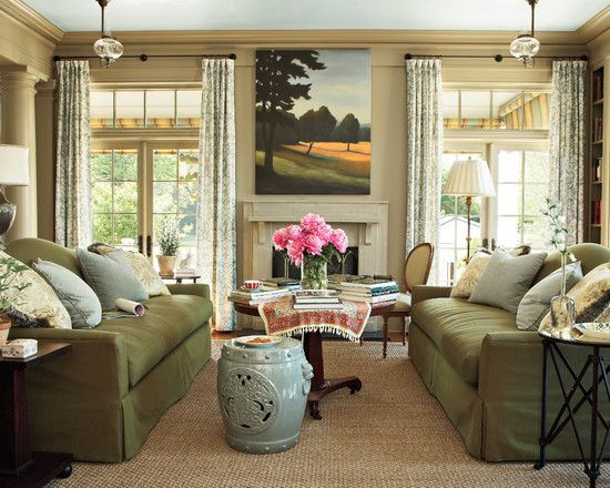 Living Room Decorating Ideas Sage Green Couch 133 best living rooms images on pinterest | living room ideas