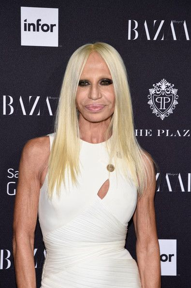 Donatella Versace .designer. - She is the sister of Gianni Versace, and she has proven to be no lesser sibling. After the murder of Gianni in 1997, Donatella took over and has taken the Versace name to new heights.  - She made sure that Versace shops would cater to the different fashion centers around the world, particularly Milan and New York.  - Top celebrities like Jennifer Lopez and Madonna have endorsed the company's collection of clothes, accessories, fragrances and home furnishings.