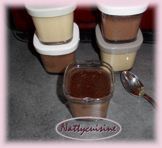 Crème aux oeufs au lait concentré parfum chocolat (multi délice) - Le blog de nattycuisine.over-blog.com