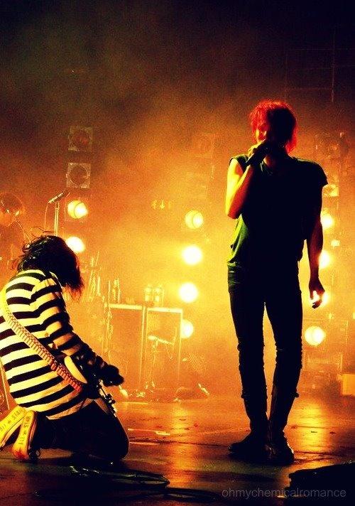 Frank Iero and Gerard Way | My Chemical Romance