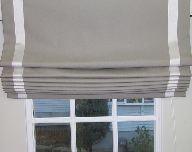 Flat Roman Shade 2017 Grasscloth Wallpaper