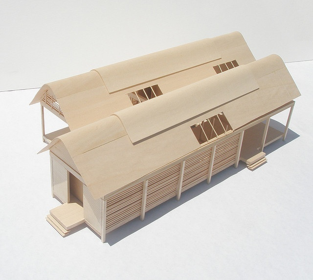 Glenn Murcutt Case Study, Marie Short House Model by lizbethrigg, via Flickr