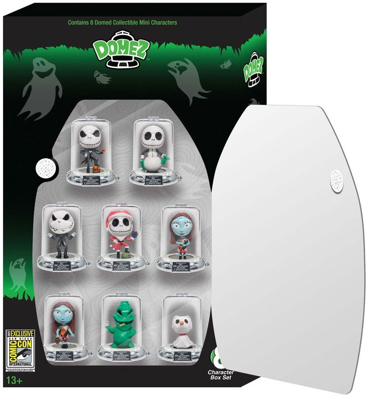 Zag Toys Domez The Nightmare Before Christmas Set