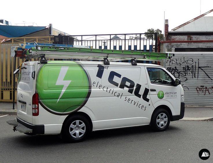 Van Wrap, Tradie, Van Advertising, Toyota Vehicle Wrap