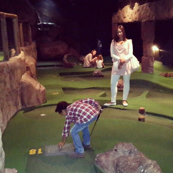 Miniture golf #puttputt