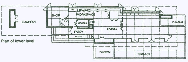 40 best images about flw penfield house on pinterest Frank lloyd wright house plans free