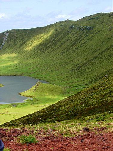 Ilha do Corvo - Monte Grosso, Azores, Portugal