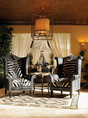 These chairs from Lexington's new collection are just Fabulous...They demand attention...