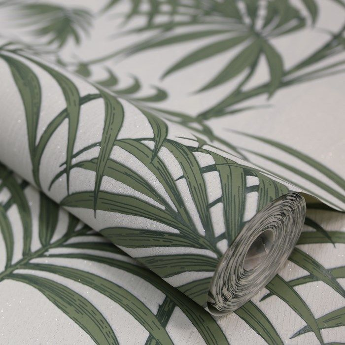 Wallpaper Inn Store -  Honolulu Palm Green by Julien MacDonald , R899,95 (http://shop.wallpaperinn.co.za/honolulu-palm-green-by-julien-macdonald/)