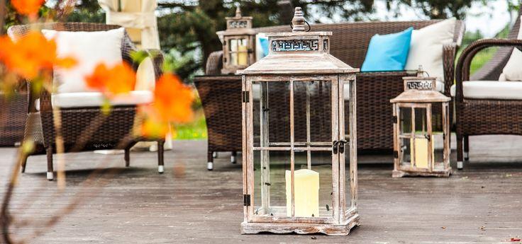 """Lampiony ogrodowe, które rozświetlą każdy ogród, taras czy patio! Tylko teraz w promocji """"First Minute"""" - taniej o 20%! >> zobacz więcej: http://gardenspace.pl/kategoria/lampiony-2"""