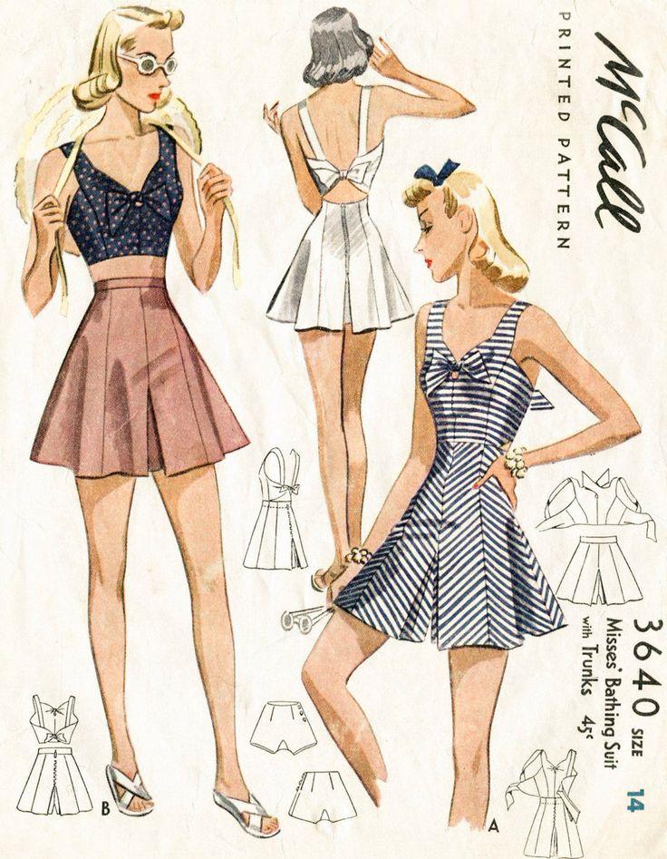 500 best 1930s Sewing Patterns images on Pinterest | Fashion vintage ...
