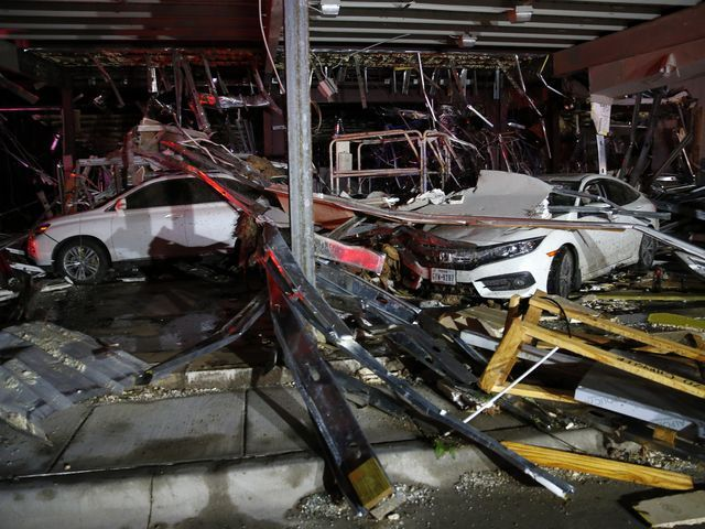 Multiple deaths are reported and numbers could rise Sunday after tornadoes and floods ripped through the Midwest and Texas on Saturday. At least 5 people are dead in Texas, according to multiple media outlets citing Van Zandt County officials. Cars and trucks are damaged as the walls blew out of the I-20 Dodge dealership after a tornado hit ...more At least one person in Missouri was killed Saturday as heavy thunderstorms and rain pummeled parts of the Midwest, causing flooding and…