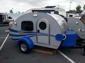 As I hinted at in late August, Little Guy Worldwide this week debuted the T@G teardrop and the myPod molded fiberglass trailer at America's Largest RV Show in Hershey, Pennsylvania. The T@G w…