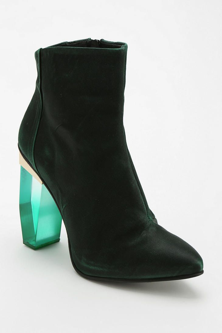 Jade Green Wide Fit Shoes