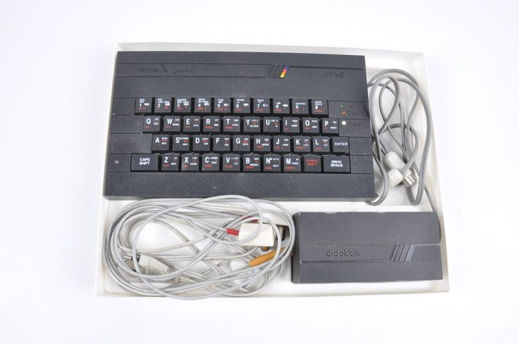 Historický počítač Didaktik Gama