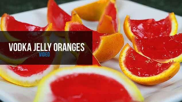 Jello Shots in Oranges  Shot, Cocktail