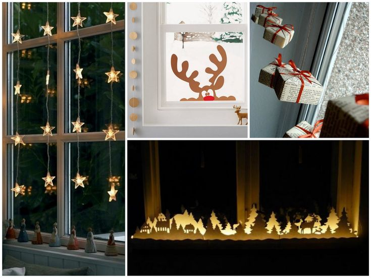 Simple Ideas How To Decorate Windows For Christmas