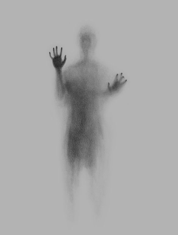 "Images like this always freak me out. Partially because you wonder if they are fading out of existence or if the are fading in from a hellish experience. Saatchi Online Artist: Hernan Marin; Graphite, Drawing ""Ghost"""