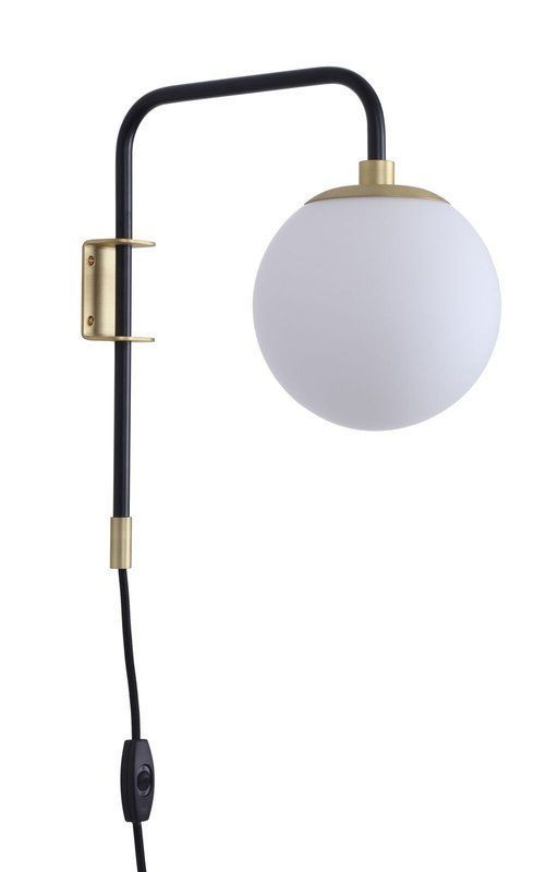Birchanger 1 Light Plug In Armed Sconce Plug In Wall Sconce Sconces Wall Sconces