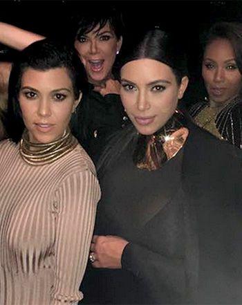 Kardashian Clan Rocks Balmain Birthday Bash With Willow, Jaden Smith - Us Weekly